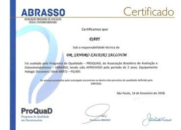 Densitometria Óssea - DAPI Curitiba